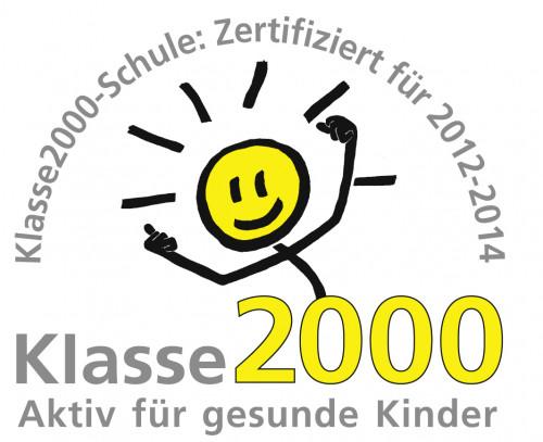 Das Klasse2000-Logo für die zertifizierten Schulen